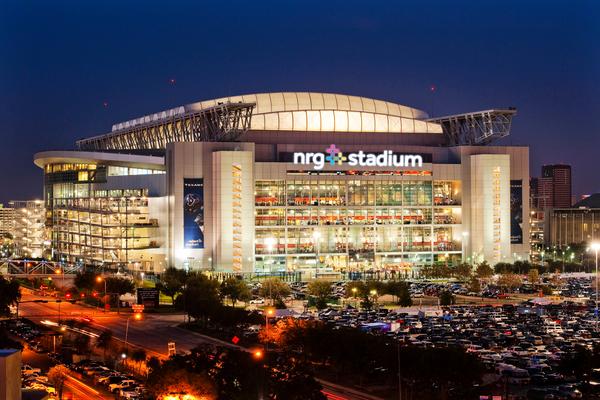 NRG Stadium at Night Houston