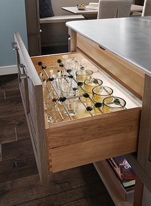 Glass Storage Drawer